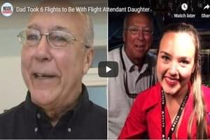 This Dad Took 6 Flights To Be With His Daughter