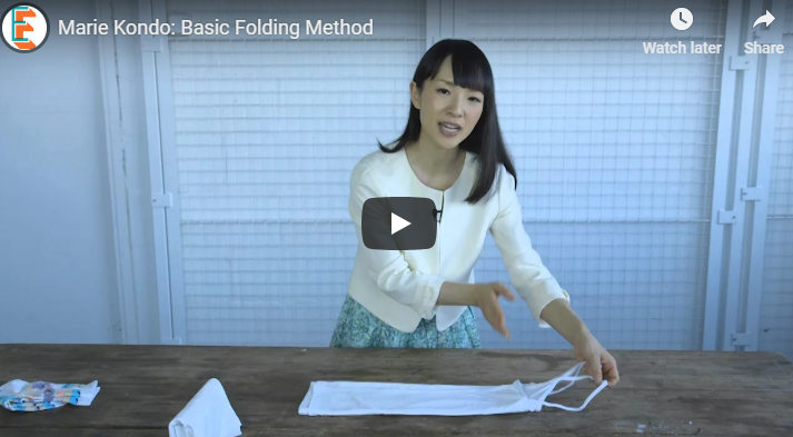 Get Marie Kondo's Tips on Tidying Up!