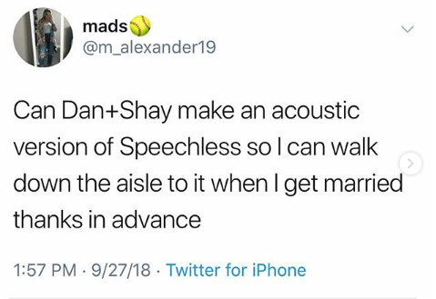 """A Fan Asked Dan + Shay for an Acoustic """"Speechless"""" and They Came Through!"""