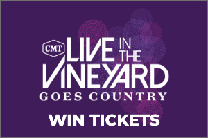 Win Passes to Live in the Vineyard Goes Country 2019 in California!