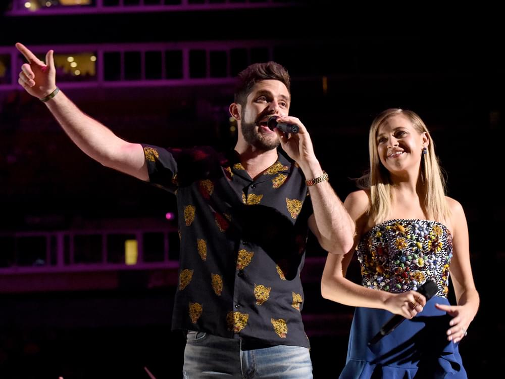 "Thomas Rhett Says Kelsea Ballerini Turned a ""Good Song Into Great"" on New Collaboration, ""Center Point Road"" [Listen]"