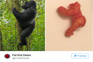 A Cheeto That Looks Like Harambe Is On eBay For The Low, Low Price Of Almost $100,000