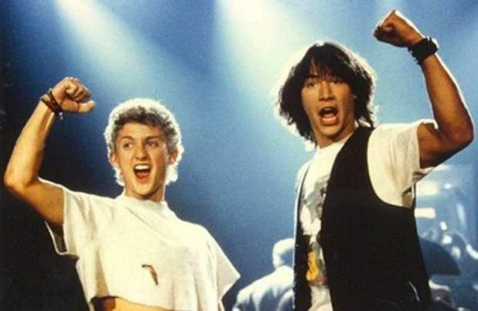 Excellent! Bill and Ted 3 Finally Has a Name!
