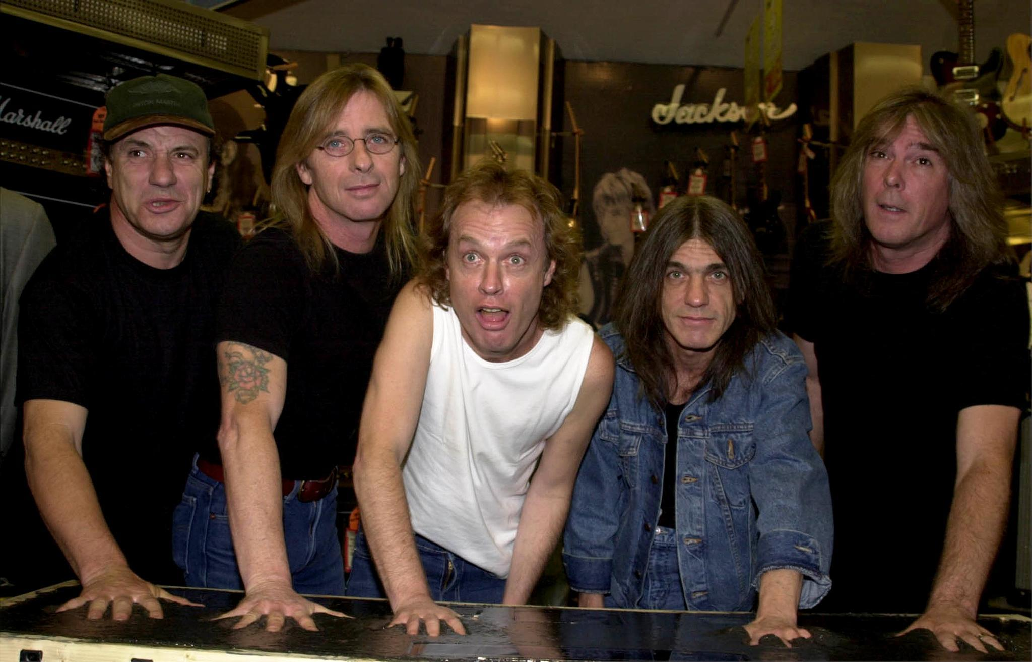 AC/DC WORKING ON NEW ALBUM FT. MALCOLM  YOUNG ON RHYTHM GUITAR