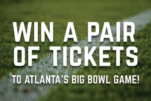 Win A Pair of Tickets to Atlanta's Bowl Game