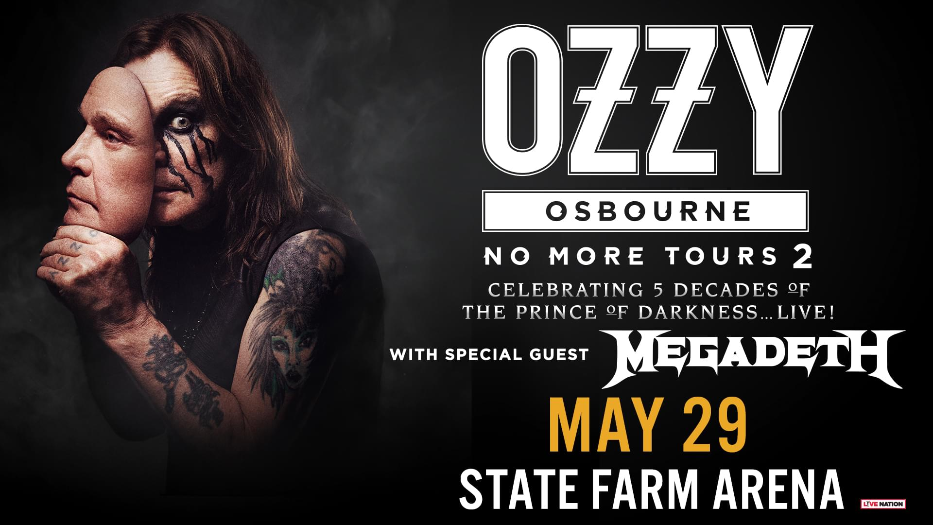 May 29 – Ozzy Osbourne
