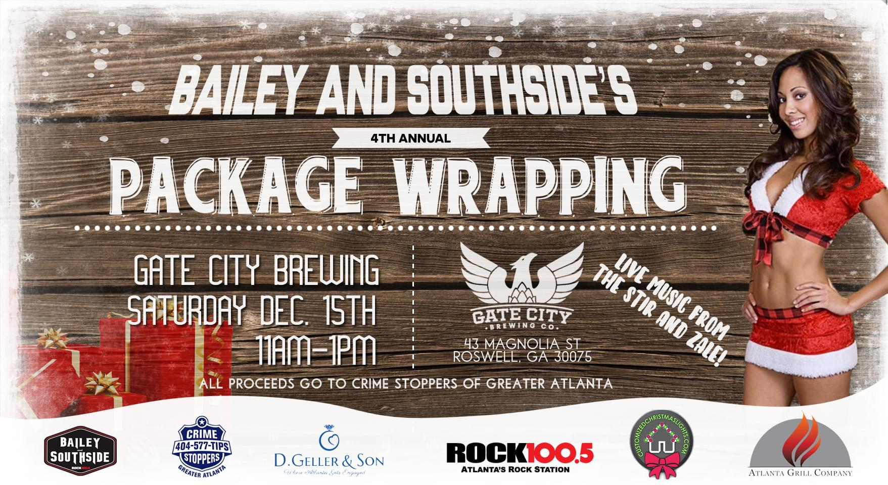 4th Annual Bailey and Southside Package Wrapping