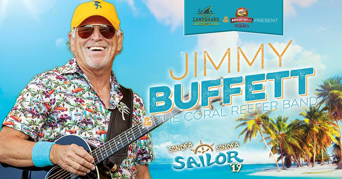 April 25 – Jimmy Buffet