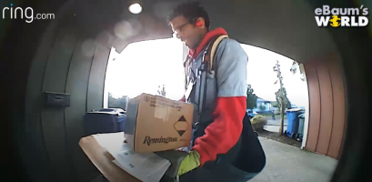 VIDEO: Mailman Goes The Extra Mile To Prevent Package Theft
