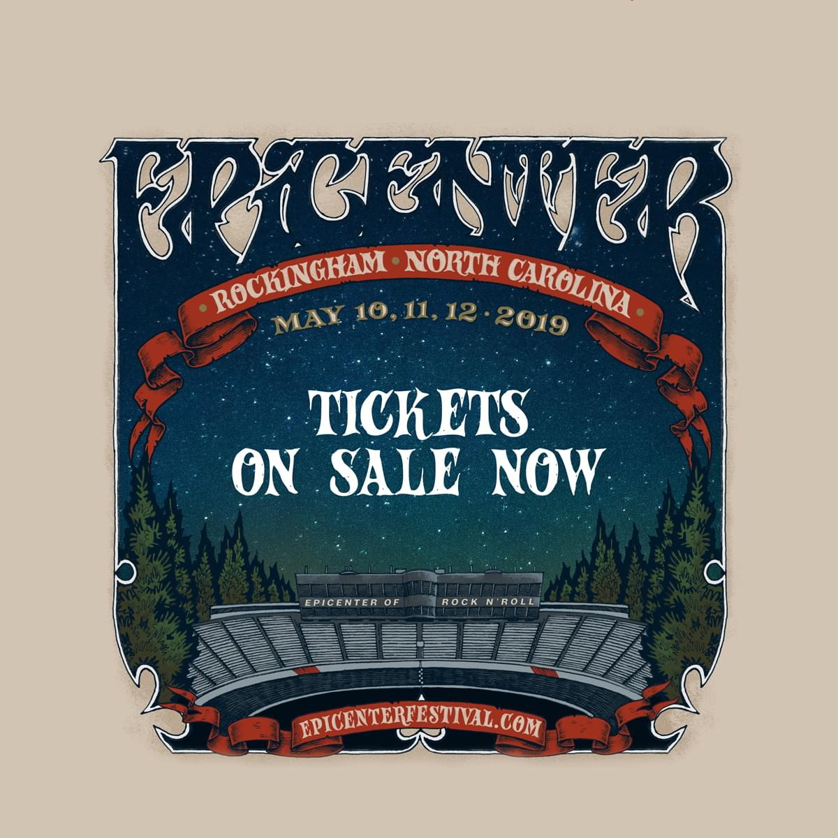 May 10-12 – Epicenter Festival