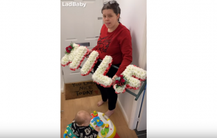 VIDEO: Wife Rages at Husband's Custom Flower Display