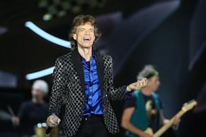 Mick Jagger Back After Heart Surgery