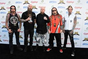 Five Finger Death Punch's Cover Of 'Blue On Black' Tops Mainstream Rock Songs