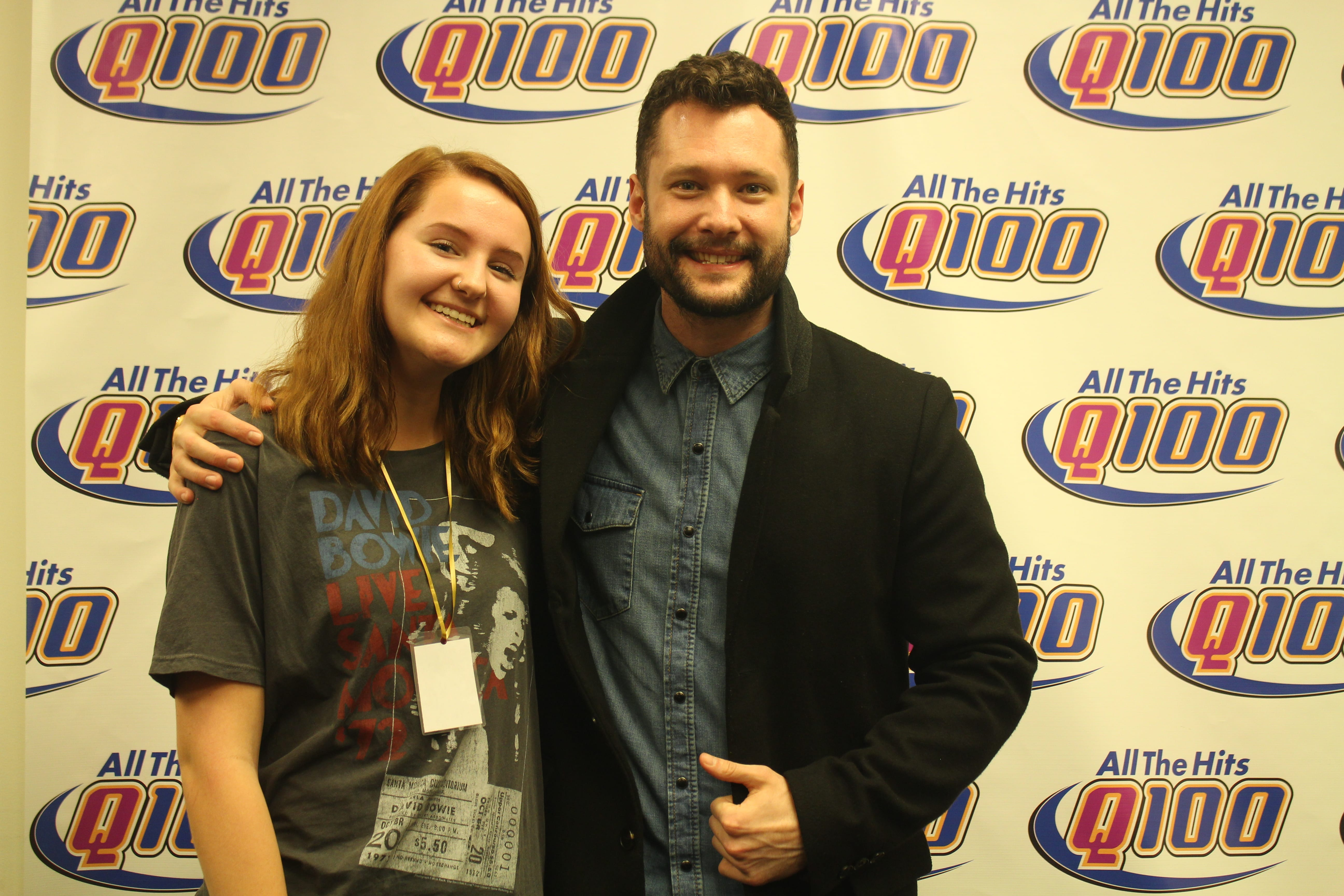 Calum scott meet greet pics q100 wwwq fm we have your meet greet photo with calum himself below download it and put it up on social media and go crazy tag us tag yourself and of course tag kristyandbryce Image collections