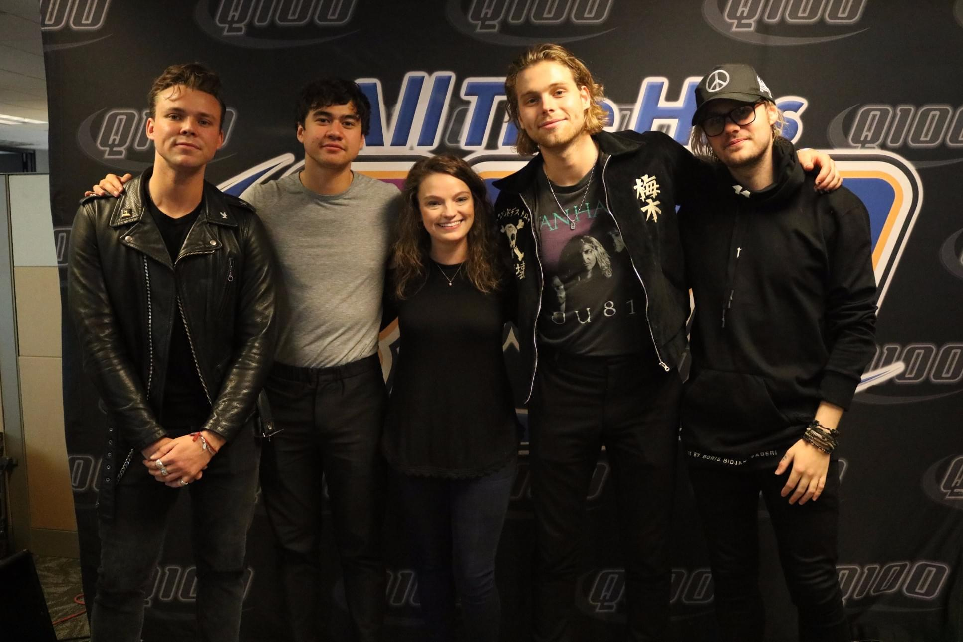 Meet and greet tickets 5 seconds of summer gallery greeting card 5 seconds of summer meet greet photos q100 wwwq fm 5 seconds of summer meet greet kristyandbryce Images