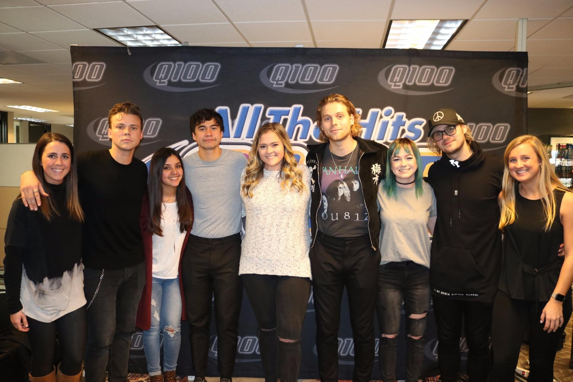 5 Seconds Of Summer Meet Greet Photos Q100 Wwwq Fm