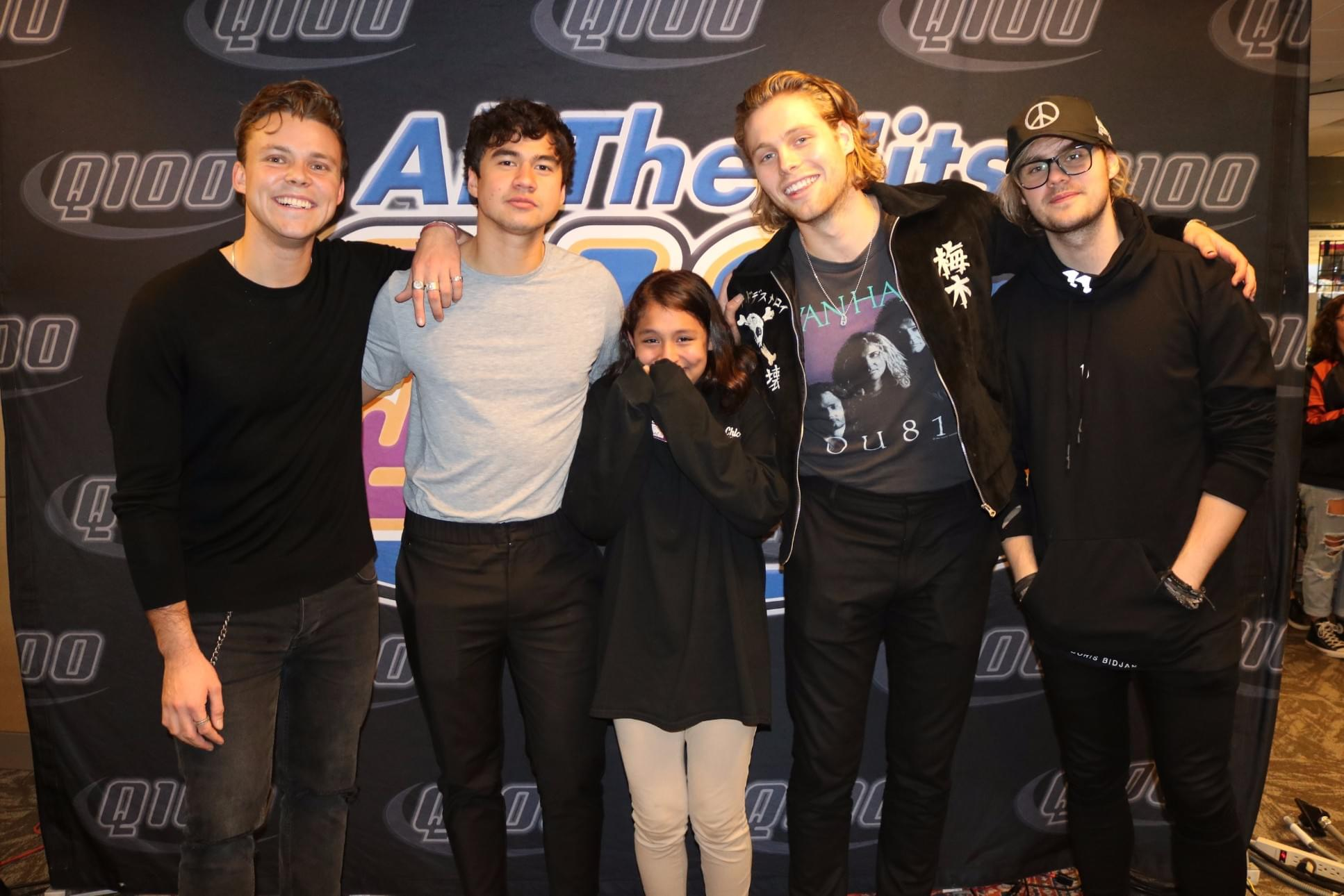 5 seconds of summer meet greet photos q100 wwwq fm posted on march 7 2018 m4hsunfo