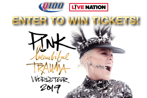 Enter to win tickets to see P!nk at her Beautiful Trauma World Tour 2019!