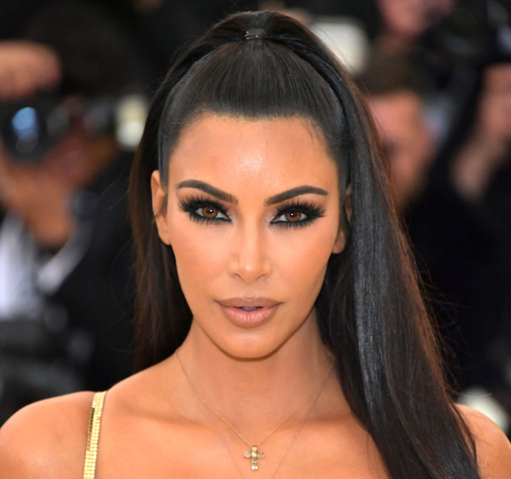 Heavenly Bodies: Fashion & The Catholic Imagination Costume Institute Gala - Arrivals  NEW YORK, NY - MAY 07:  Kim Kardashian attends the Heavenly Bodies: Fashion & The Catholic Imagination Costume Institute Gala at The Metropolitan Museum of Art on May 7, 2018 in New York City.  (Photo by Neilson Barnard/Getty Images)
