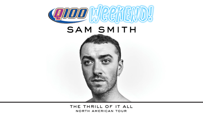 Q100 Weekend – Sam Smith!