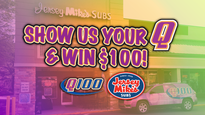 Show us your Q & Win $100 at Jersey Mike's!