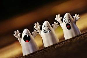 """Ghosting"" is Now a Halloween Costume!"