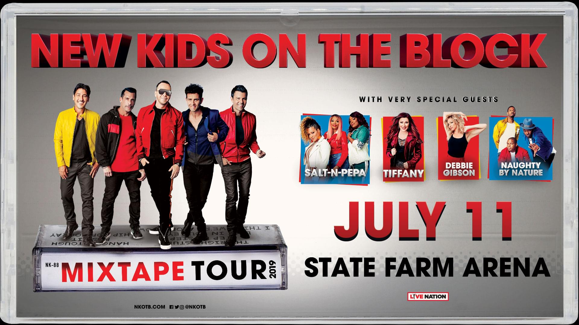 July 11 – New Kids On The Block
