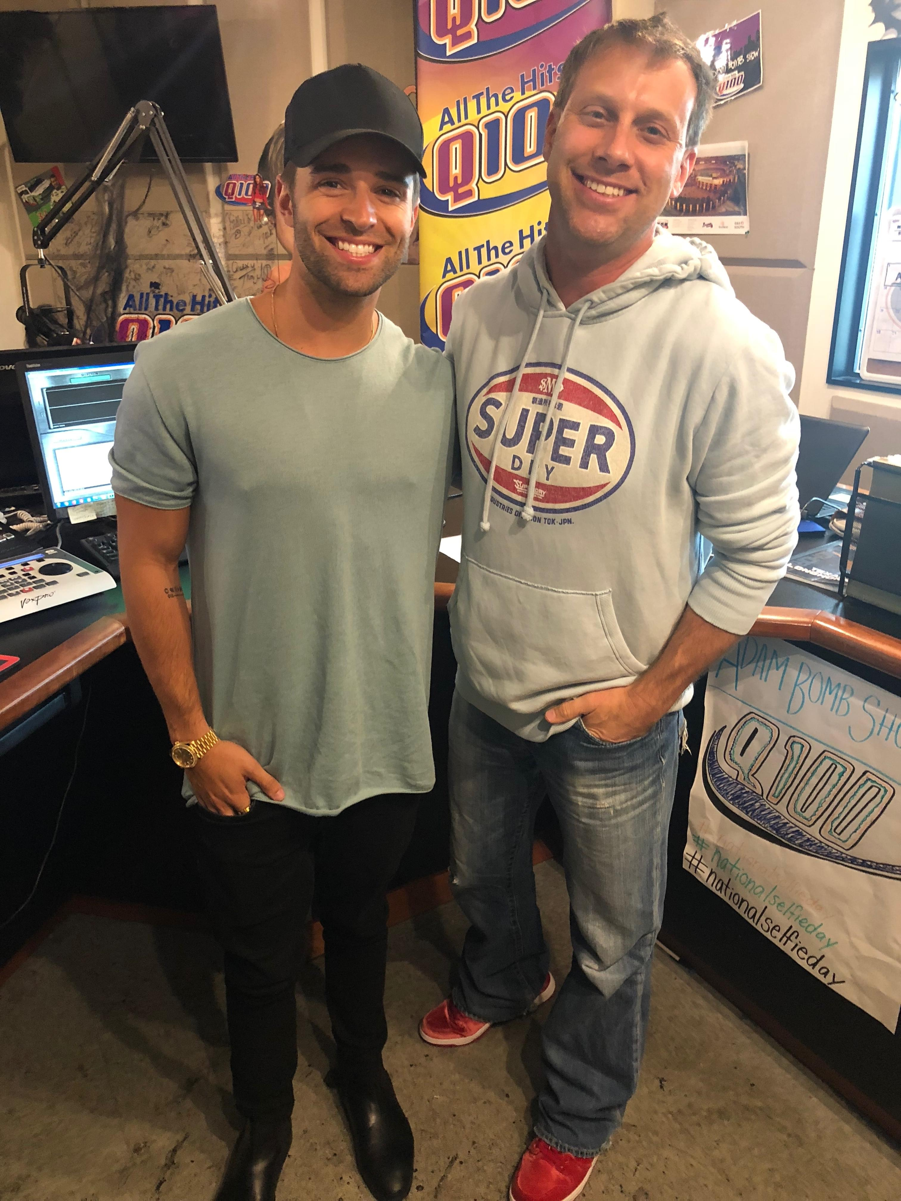 Jake Miller Stops by Q100 for a Listener Lounge