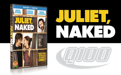 Enter for a chance to win Juliet, Naked on Blu-ray