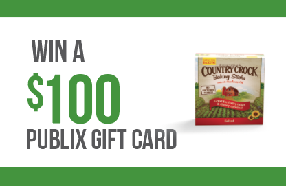 Enter to win a $100 Publix Gift Card for Thanksgiving!