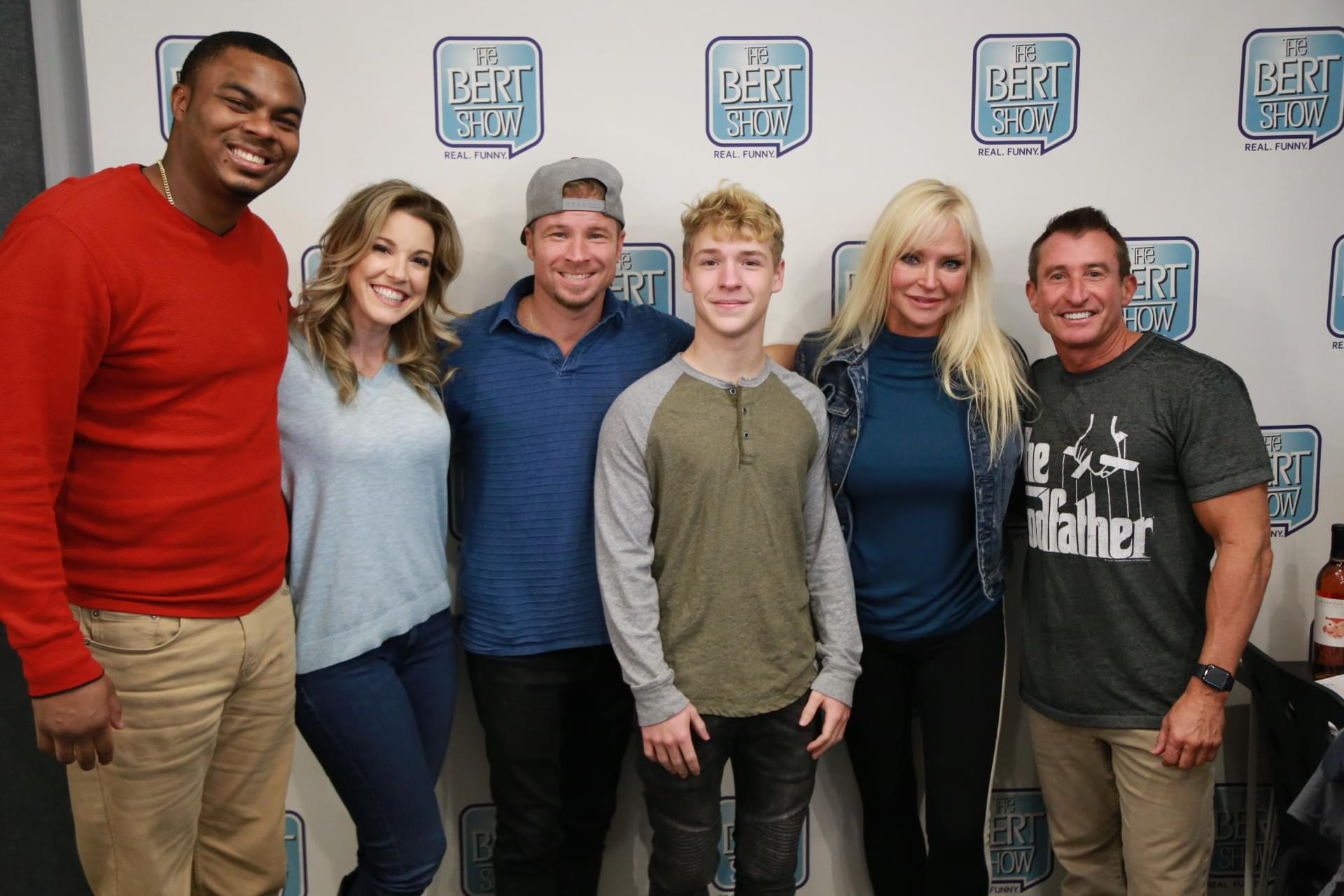 Brian Littrell from the Backstreet Boys & His Family Join The Bert Show