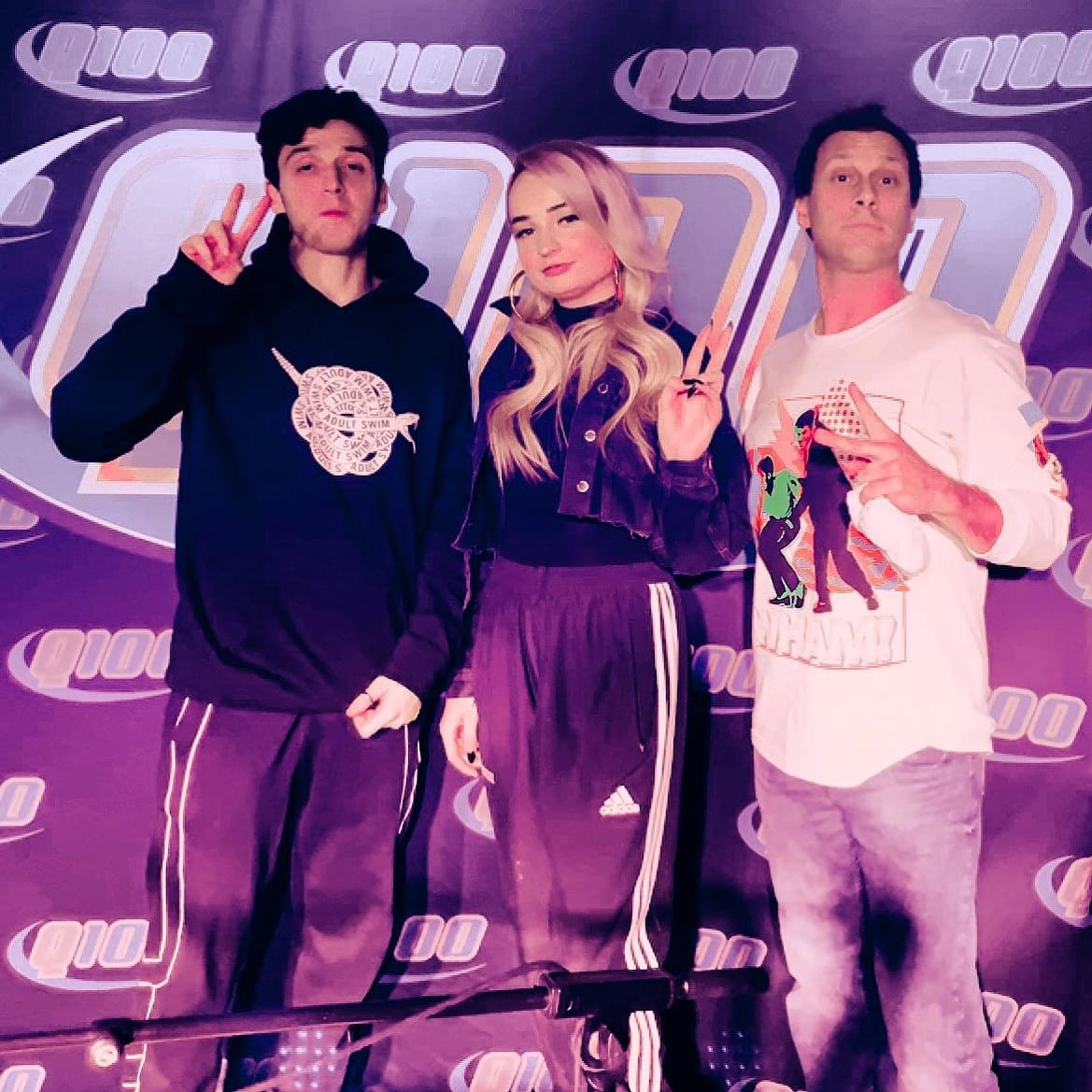 Lauv Visits Q100 for Exclusive Live Lounge