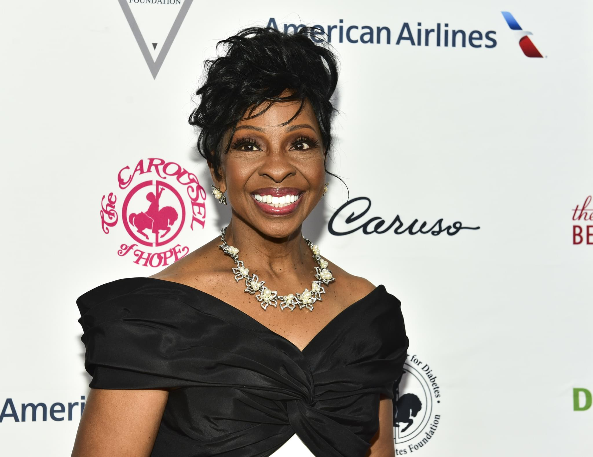 Gladys Knight is singing the National Anthem at the Super Bowl
