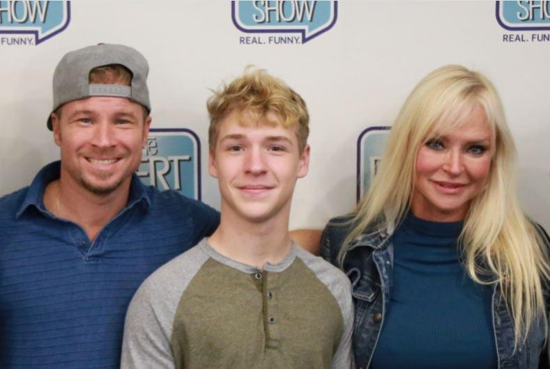 Son of Backstreet Boy Brian & Singer Baylee Littrell Hangs In Studio!