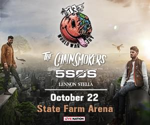 Oct 22 – The Chainsmokers & 5SOS