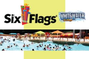 Win an Admission to Dive-In Movies at Six Flags White Water!