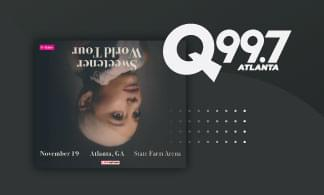 Win tickets to see Ariana Grande!