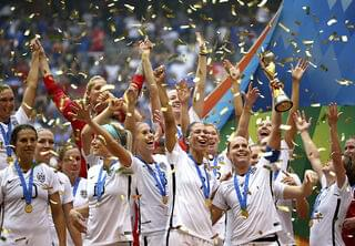 USWNT Continue World Cup Win Celebration at NYC Parade