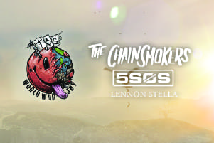 Win tickets to see The Chainsmokers