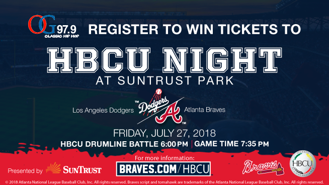 Register to win Braves HBCU Night!