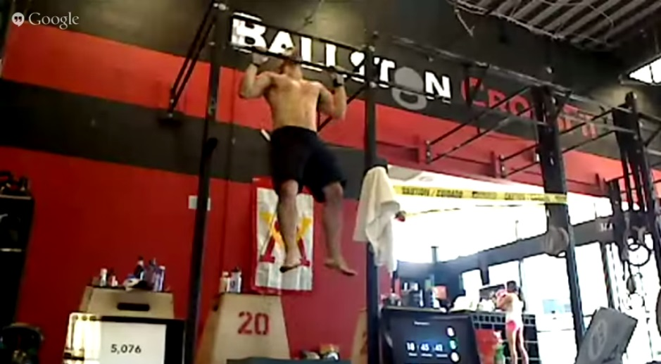LOCAL: DC Man Unofficially Sets New World Record for Pullups