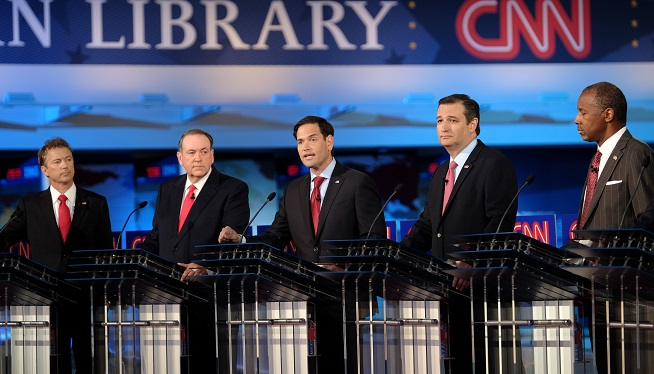 CNN Republican Presidential Debate