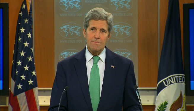 Kerry expresses outrage after 27 killed in strike on Syrian hospital