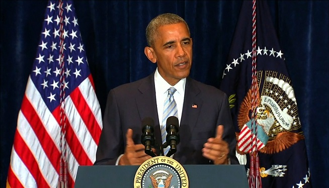 President Obama comments on police shootings