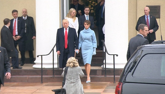 WATCH: Melania Trump Channels Jackie Kennedy in Ralph Lauren Dress