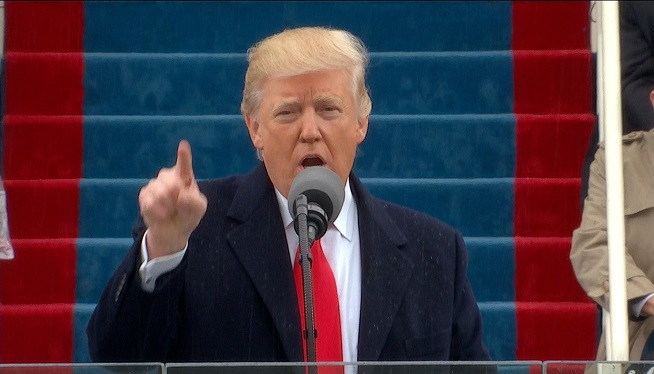 WATCH: Trump Becomes 45th President of the United States