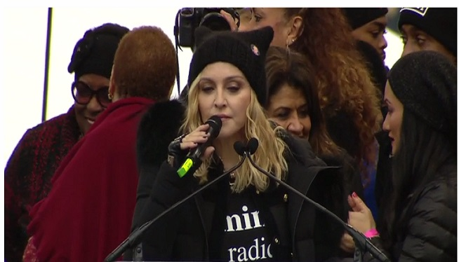 Madonna: 'Blowing Up White House' Taken Out Of Context