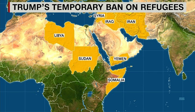 Another US Appeals Court Keeps Trumps Travel Ban Blocked - Us appeals court map