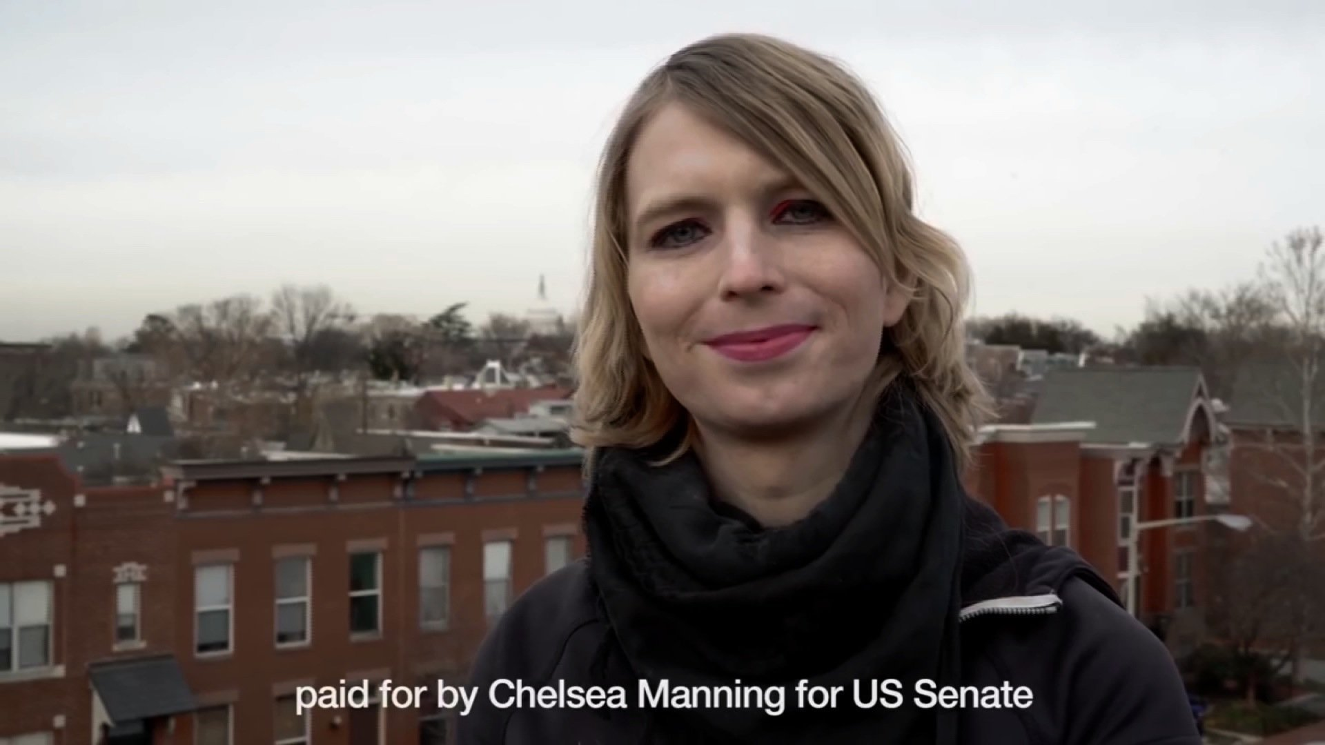 Chelsea Manning releases Senate campaign video