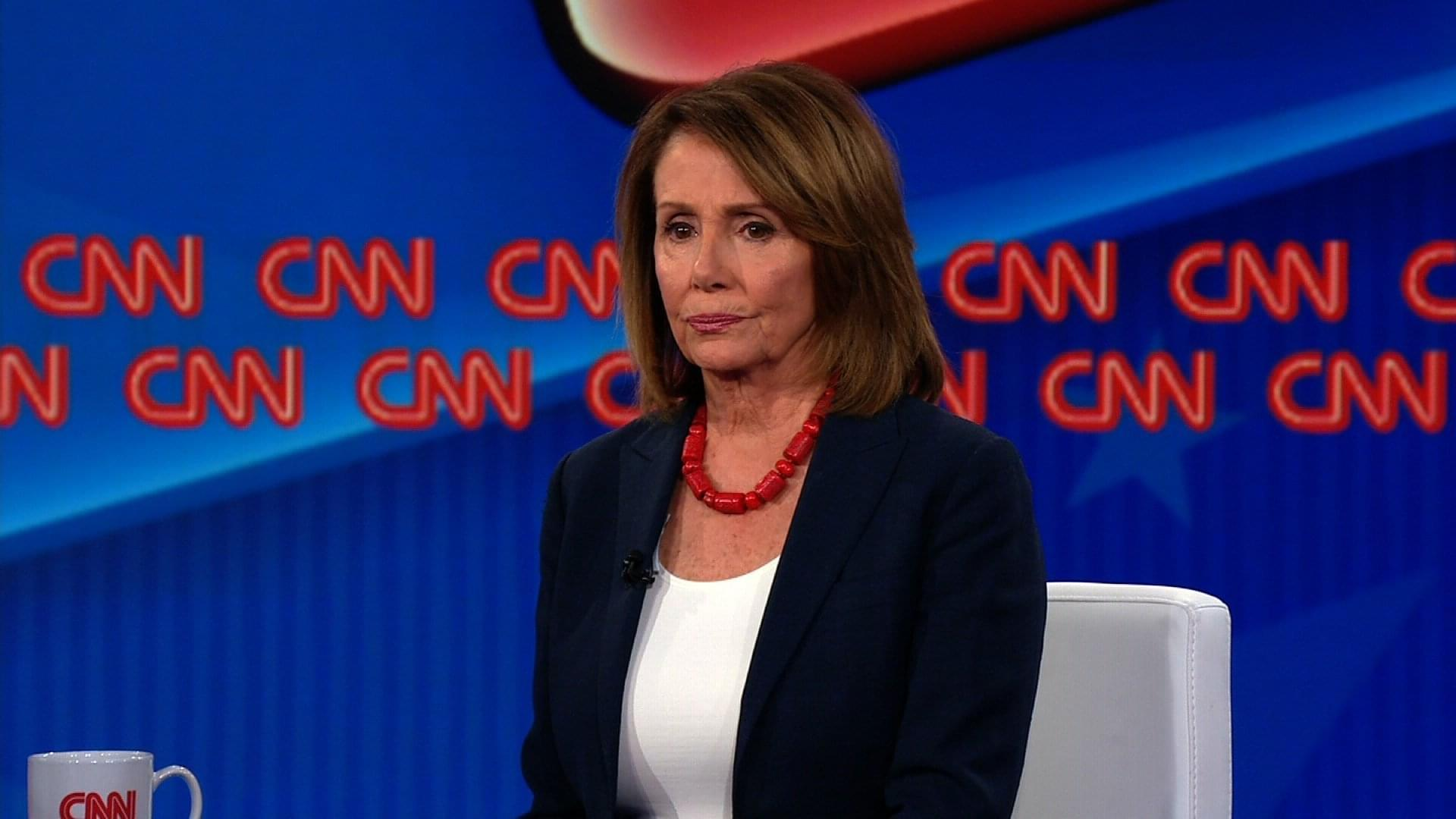 Nancy Pelosi CNN Town Hall